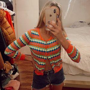 Vibrant Y2K Unif Vibez Sweater